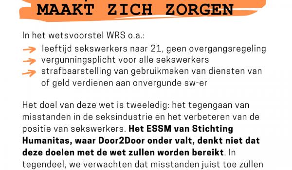 Verslechtering positie sekswerkers bij invoer WRS
